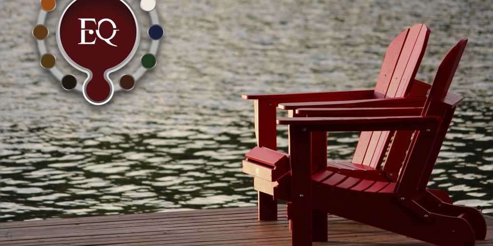 Protector Millennium en color rojo aplicado en mobiliario urbano de exterior.