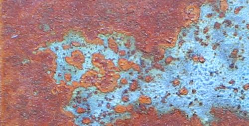 Textura acero cardenillo