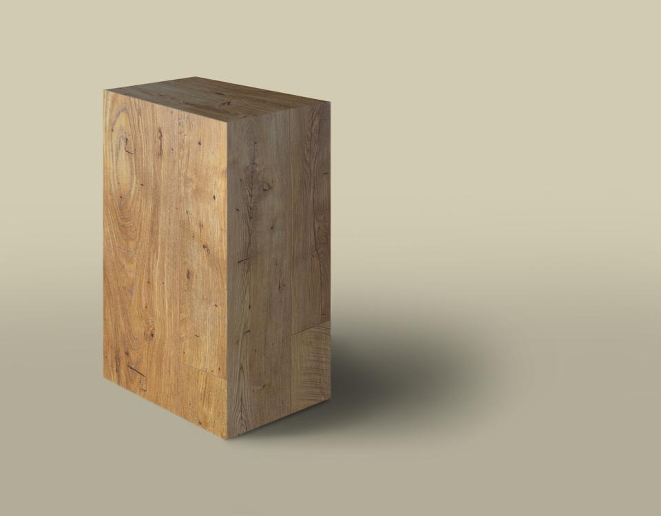 Efecto natural wood aplicado sobre soporte